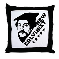 New Calvinist-Comrade Throw Pillow