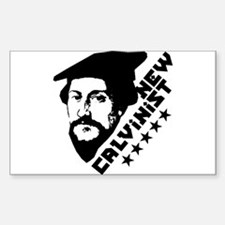 New Calvinist-Comrade Rectangle Decal
