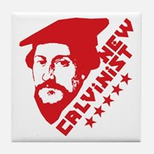 New Calvinist-Comrade Tile Coaster