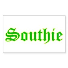 southie - Rectangle Bumper Stickers