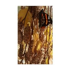Autumn Butterfly Rectangle Decal