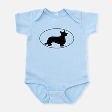 Cardigan Infant Bodysuit