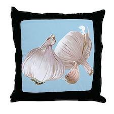 Just Garlic Throw Pillow