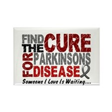 Find The Cure 1 PARKINSONS Rectangle Magnet