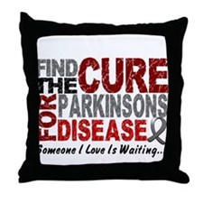 Find The Cure 1 PARKINSONS Throw Pillow