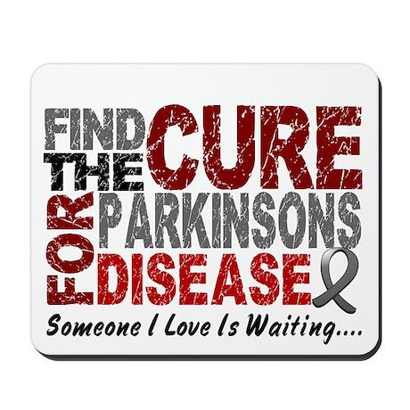 Find The Cure 1 PARKINSONS Mousepad
