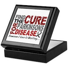 Find The Cure 1 PARKINSONS Keepsake Box