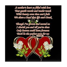 A Mother's Heart Tile Coaster