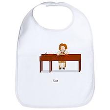 A Pianist's Life (Eat) Bib