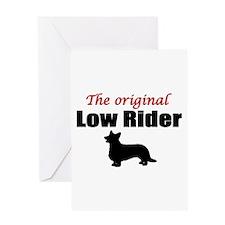 Low Rider Greeting Card