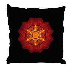 Marigold I Throw Pillow