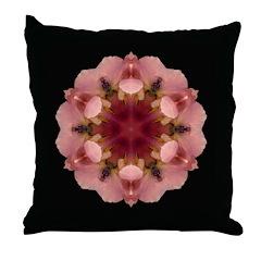 Iris Germanica I Throw Pillow