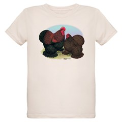 Cochins Partridge Rooster and T-Shirt