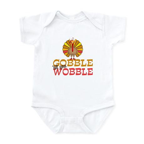 Gobble Til You Wobble Infant Bodysuit