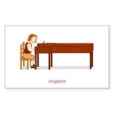 La Vie d'un Pianiste (Respirer) Decal