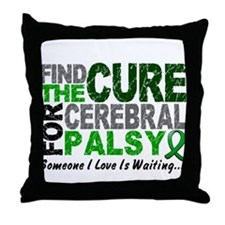 Find The Cure 1 CEREBRAL PALSY Throw Pillow