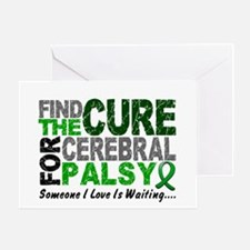 Find The Cure 1 CEREBRAL PALSY Greeting Card