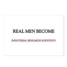 Real Men Become Industrial Research Scientists Pos