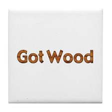 Got Wood Tile Coaster