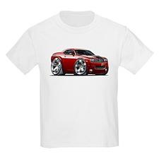 Challenger Maroon Car T-Shirt