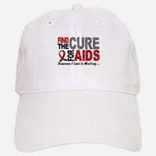 Find The Cure 1 HIV AIDS Baseball Baseball Cap
