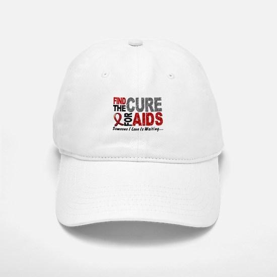 Find The Cure 1 HIV AIDS Baseball Baseball Cap