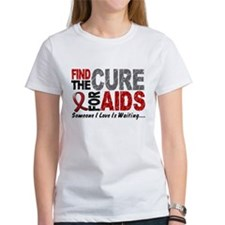 Find The Cure 1 HIV AIDS Tee