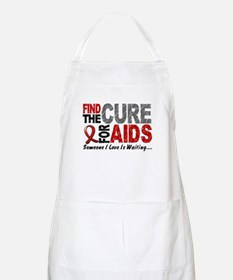 Find The Cure 1 HIV AIDS BBQ Apron