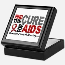 Find The Cure 1 HIV AIDS Keepsake Box