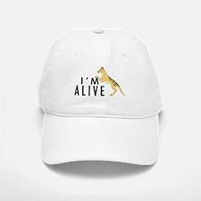 I'm Alive -- Thylacine Baseball Baseball Cap