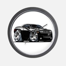 Challenger Black Car Wall Clock