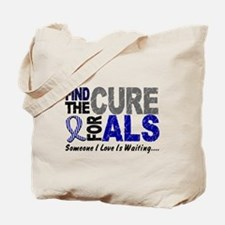 Find The Cure 1 ALS Tote Bag