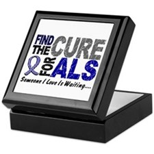 Find The Cure 1 ALS Keepsake Box