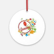 Wonderful Grandma Ornament (Round)