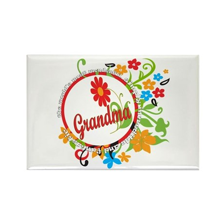 Wonderful Grandma Rectangle Magnet