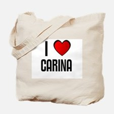 I LOVE CARINA Tote Bag