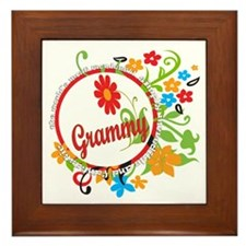 Wonderful Grammy Framed Tile