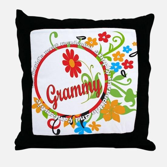 Wonderful Grammy Throw Pillow