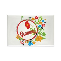 Wonderful Grammy Rectangle Magnet (100 pack)