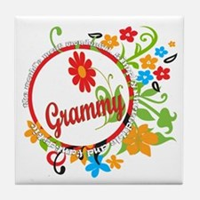 Wonderful Grammy Tile Coaster