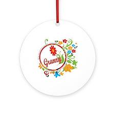 Wonderful Granny Ornament (Round)