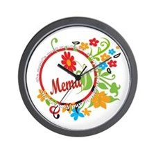 Wonderful Mema Wall Clock