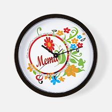 Wonderful Mema Wall Clock