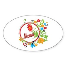 Wonderful Mema Oval Decal