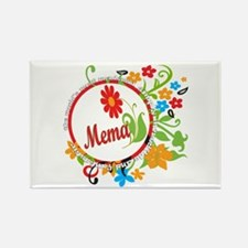 Wonderful Mema Rectangle Magnet