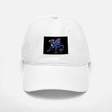 Blue Dragon At Night Baseball Baseball Cap