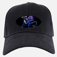 Blue Dragon At Night Baseball Hat