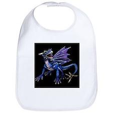 Blue Dragon At Night Bib