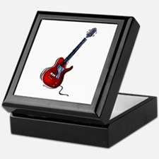 GUITAR (6) Keepsake Box