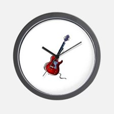 GUITAR (6) Wall Clock